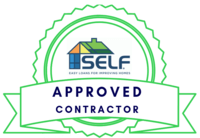SELF Approved Contractyor - Easy loans for improving homes
